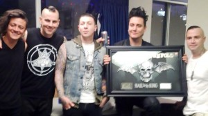 Avenged Sevenfold (photo courtesy of Warner Music Canada)