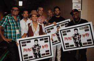 Bruno Mars (photo courtesy of Warner Music Canada)