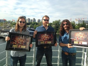 The Sheepdogs (photo courtesy of Warner Music Canada)