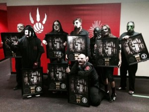Slipknot (photo courtesy of Warner Music Canada)