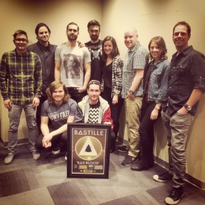Bastille (photo courtesy of Universal Music Canada)