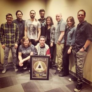 Bastille (photo courtesy of Universal Music Canada)