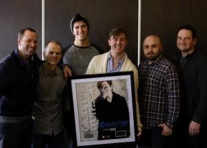 Glenn Morrison (photo courtesy of Sony Music Canada)