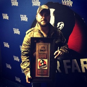Tyler Farr (photo courtesy of Sony Music Canada)