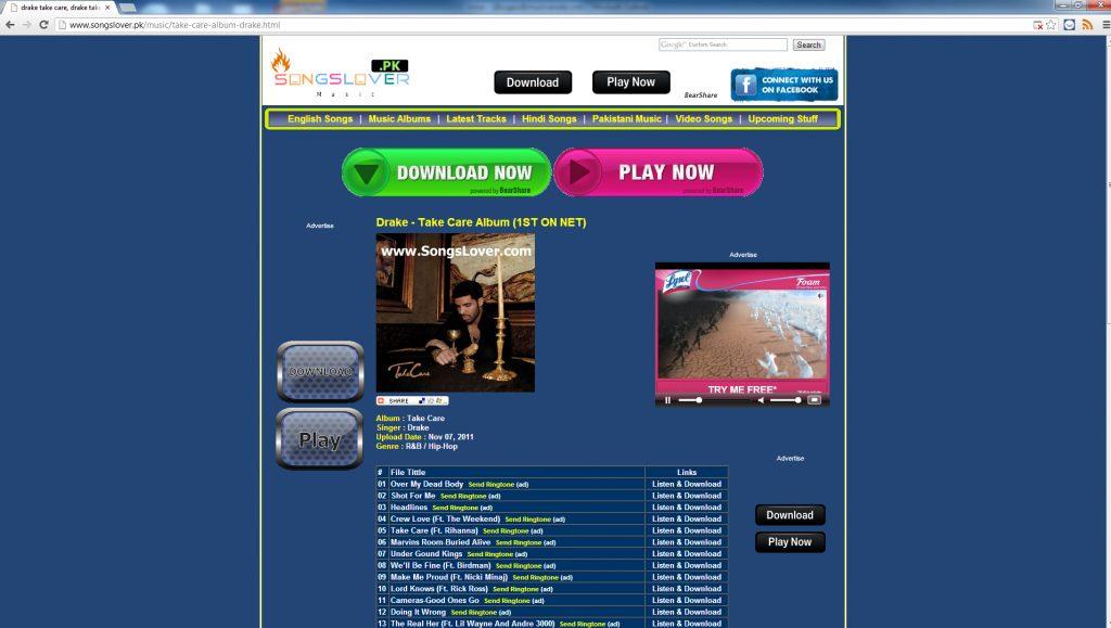Drake - Lysol - Songslover