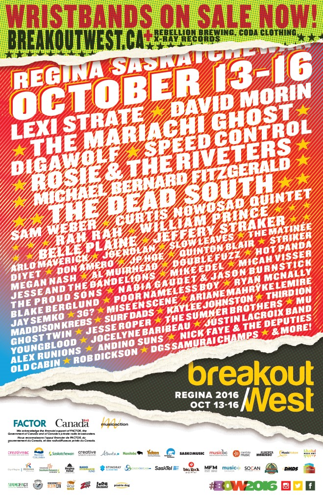 BreakOut West Poster