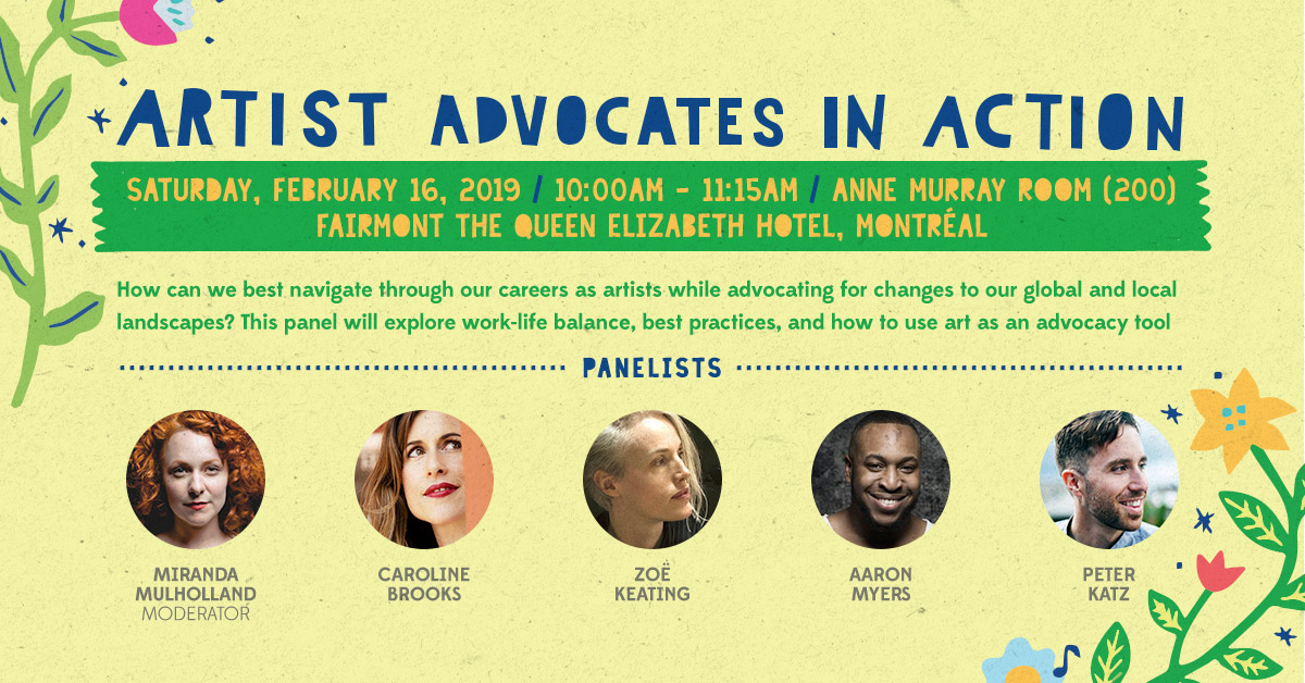 Panel Preview: Artist Advocates in Action at Folk Alliance